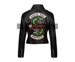 Riverdale Black Leather Jacket For Women