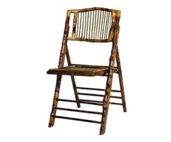 Larry Hoffman Chair - Bamboo Wood Folding Chair