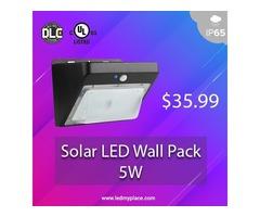 Install LED Solar Outdoor Wall Lights For Maximum Energy-Savings