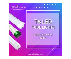 T8 LED Tube Lights - Energy-Efficient Solution To Fluorescent Tubes!