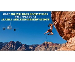 Get on your adventure mode at Alaska Airlines Reservations