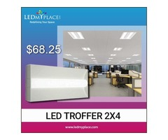 Use 2x4 50w LED Troffer Lights to Ensure Maximum Efficiency