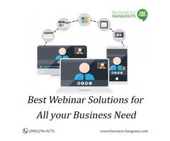Best Webinar Software for Online Meeting - Business Hangouts