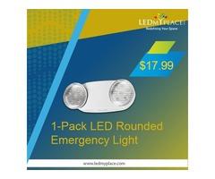 LED Emergency Exit Lights --  Lets You Stay Safe & Secure!