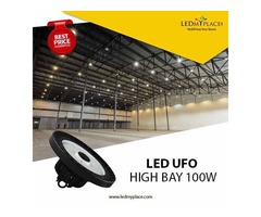Use Sleek And Elegant 100W UFO High Bay Light For Greater Results