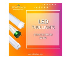 Save the environment by using eco-friendly LED Tubes Products