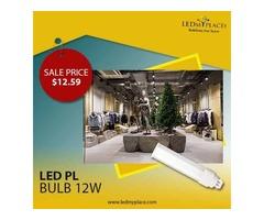 Buy Now 12w LED PL Bulb On Sale