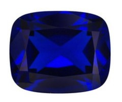 Lab Created Synthetic Blue Spinel gemstone
