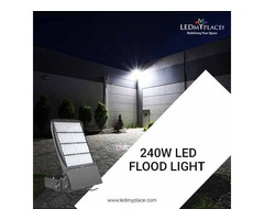 Install Outdoor LED Flood Lights For Utmost Brightness