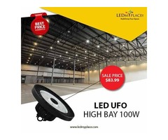 Purchase Now 100w LED UFO High Bay Lights On Sale