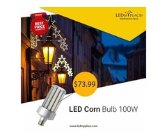 Install Energy-Efficient LED Corn Bulb 100W To Illuminate Your Space