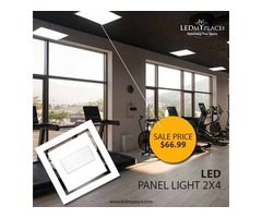 2x4 LED Panel Lights Are A Way To Improving The Indoor Ambience!