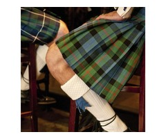 Get Authentic Scotish Kilt On Rent For $60