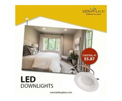 Install LED Dimmable Downlights To Have Maximum Level of Brightness