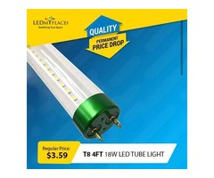 Buy T8 LED Single End Tube To Lower Monthly Electricity Cost