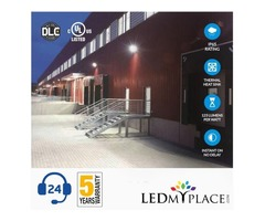 Install Semi Cut Led Wall Packs To Lighten Outside Areas At Commercial Residential Places