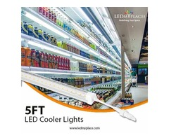 Install 5ft LED cooler tube inside Big Freezers and Refrigerators
