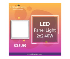 Feel Relaxed in Homes Install 2x2 LED Panel Lights