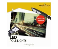 Purchase Now Outdoor LED Pole Lights On Sale