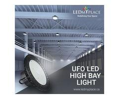 Illuminate Your Warehouse with UFO LED High Bay Lights