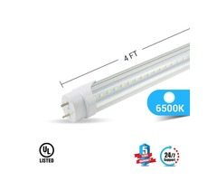 BALLAST COMPATIBLE T8 4ft led tube 20w 3000 lumens- 6500K,5000K.