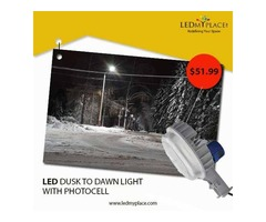 Switch to LED Dusk Light as the Best Lighting Option at Outdoor Places
