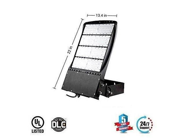 300W LED Flood Light Outdoor, AC100-277V, Replaces 1000W, 5700K, 1-10V Dimmable,IP65 Rated, 40521L | free-classifieds-usa.com