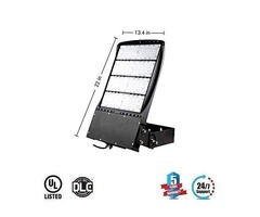 300W LED Flood Light Outdoor, AC100-277V, Replaces 1000W, 5700K, 1-10V Dimmable,IP65 Rated, 40521L