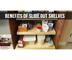 sliding shelves