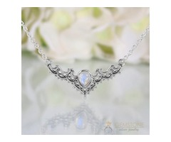 Moonstone Necklace - Iconic Delta - GSJ
