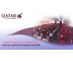 Relish the beauty in the world with Qatar Airways Reservations