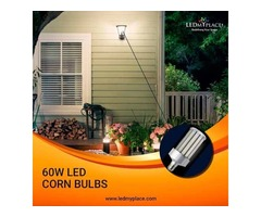Install Brightest Form Of Bulbs, 60W LED Corn Bulb To Lighten Lawns