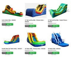 Water slide inflatables for sale