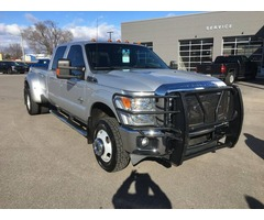 2011 FORD F350 LARIAT SUPER DUTY CREW CAB DUALLY - $32k OR BEST OFFER