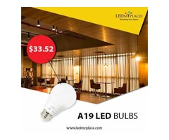Install A19 Dimmable LED Bulb and Enhance Your Savings
