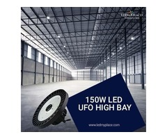 With The 150w LED UFO High Bay Designed Light You Can Add More Brightness To Your Life