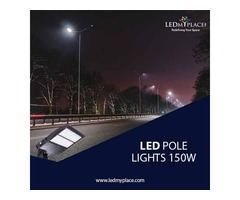 150W LED Pole Lights are the Best Outdoor Lighting Option among Many other Lights