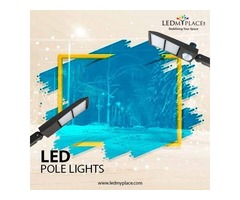 Light up your streets with energy-efficient led pole lights