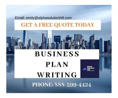 Business Plan Writing Services AVAILABLE