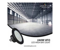 240W LED High Bay Lights For A Brighter Commercial Space!