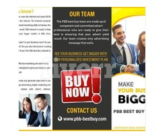 Grow Your Business With PBB Best Buy