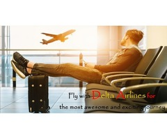 Fly with Delta Airlines for the most awesome and exciting journey