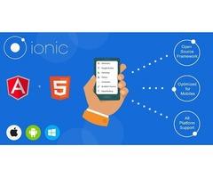 Custom Ionic App Development Company in USA