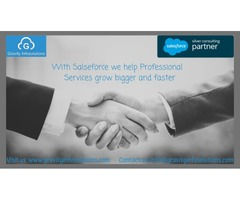 With Salesforce we help Professional Services grow bigger and faster