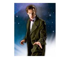 Dr Green Matt Smith Cotton Coat