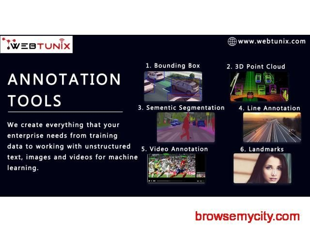 Image Annotation Tools Services and its Applications: USA - Tech