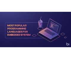 Top 17 Most Popular Programming Languages for Embedded System