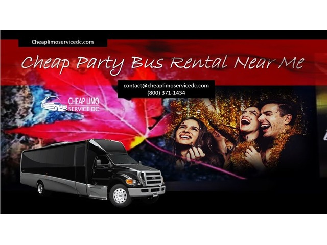 Cheap Party Bus Rental Near Me   free-classifieds-usa.com