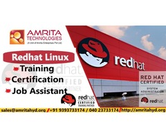 Red Hat Linux Online Training at Amrita Technologies by Red Hat Trainers