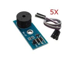 5Pcs 3.3-5V Passive Buzzer Alarm Module For Arduino